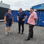 Jean-François Portarrieu visite l'entreprise Modul'ère